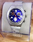 NEW SWATCH IRONY ALUMINUM YMS4001AG GENTLE BREEZE LADIES SWISS MADE WATCH