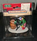 LEMAX CHRISTMAS FIGURINE PRETTYING UP THE PORT RETIRED 82222 NEW SEASIDE VILLAGE