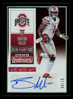 2016 Panini Contenders Draft Playoff Braxton Miller RC Autograph 05 15 OHIO ST.