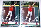 2019 Topps Holiday Box Mike Trout #HW31 BRAND NEW [x2 LOT]