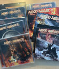 Amon Amarth Cd Lot 11 Cds - 2 Dvds Collection Viking Metal Music OG Cds All Play