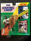 1992 NFL KENNER STARTING LINEUP EARNEST BYNER REDSKINS FIGURE W/ CARD POSTER