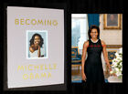 MICHELLE OBAMA SIGNED BECOMING DELUXE EDITION + Bonus 5x7 Portrait Photo NEW
