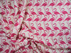 Bullet Printed Liverpool Textured Fabric 4 way Stretch Pink Flamingo Ivory U37