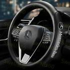 15 Diameter Car Steering Wheel Cover Genuine Leather For Mercedes Benz AMG 2019