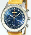 Breitling Navitimer 01 Chronograph Steel Blue Dial 46mm Watch Box/Papers AB0127