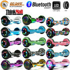 65 Bluetooth Hoverboard Self Balance Electric Scooter UL Bag LED Best Gift Kid
