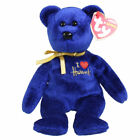 TY Beanie Baby - OMNIA the Bear (Harrods UK Exclusive) (8.5 inch) - MWMTs