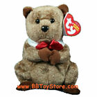 TY Beanie Baby - PUNXSUTAWNEY PHIL 2009 the Groundhog (RED PA Exclusive) MWMTs