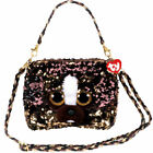 TY Fashion Flippy Sequin Purse - BRUTUS the Dog (8 inch) - New Beanie Boo Toy