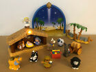 Fisher Price Little People CHRISTMAS NATIVITY SET Lights Music 2008 w SCREEN+BOX