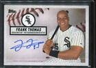 2019 Topps Brooklyn Collection Frank Thomas On Card Auto #ed 75 75