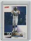 CRIS CARTER Vikings SIGNED 2000 Upper Deck Victory #205 Autograph ON CARD AUTO