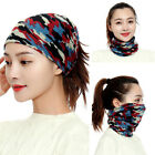 Girl Cap Beanie Hat Scarves Warm Neckerchief Stretch Womens Holey Ponytail Scarf