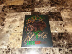 Poison Rare Band Signed Autographed Limited Edition Live Raw & Uncut CD DVD COA