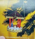 LeeWards NATIVITY Manger Sequin Bead Christmas Ornament Kit Vintage Religious
