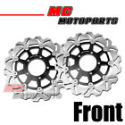 Stainless Steel Front Brake Disc Set For Kawasaki ER6F ER6N Z750 ABS / R Z1000