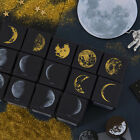 Vintage moon series wood stamp DIY craft wooden rubber stamp for scrapbooking
