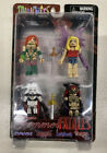 MINI MATES FEMME FATALES 4 PACK MINI COLLECTIBLE BRAND NEW SEALED