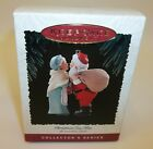 Hallmark Christmas Ornament - Christmas Eve Kiss Mr Mrs Santa Claus - MIB