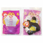 TY McDonald's Teenie Beanie - #6 BUMBLE the Bee (2000) (4.5 inch) - New in bag