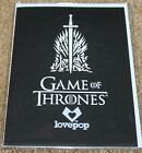 Lovepop The Iron Throne, Game of Thrones Pop-Up Card Birthday