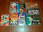 WAX BOX LOT TOPPS FOOTBALL UPPER DECK 8 TOTAL 1990 ACTION PACKED ROOKIE UPDATE+7