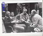 Sven Nykvist director Ingmar Bergman candid on set VINTAGE Photo