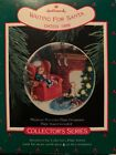 Vintage Hallmark Keepsake Ornament Waiting For Santa  Collectors Plate 1988 MIB