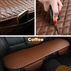 Coffee Color Car Rear Seat Cover PU Leather Universal Seat Cushion Protector
