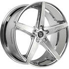 4ea 22 Lexani Wheels R Four Chrome Rims S10
