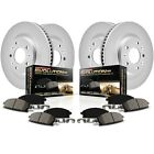CRK6707 Powerstop 4 Wheel Set Brake Disc and Pad Kits Front  Rear New for ML320