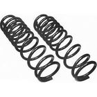 CC814 Moog Set of 2 Coil Springs Front New for Truck F150 Ford F 150 Bronco Pair