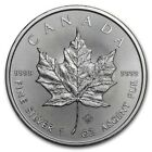 2020 1 oz Canadian Silver Maple Leaf Coin 9999 Fine Silver In Stock