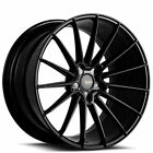 4ea 19 Staggered Savini Wheels BM16 Gloss Black Rims S13