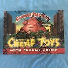 1986 Topps Garbage Pail Kids Cheap Toys with Crummy Candy BBCE wrapped box