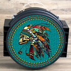 Hilason Western Made In The Usa Durable Can Holds 3 4 Ropes Black Native Chief U