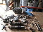 1970 Honda SL175 Crankcases Speedometer Rear Shocks Brake Hub Fender Parts Lot
