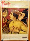 spanish REPRO one sheet poster FAUST FWMurnau Emil Jannings restoration 1996
