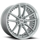 4ea 20 Staggered Niche Wheels M221 DFS Silver Machined Rims S7