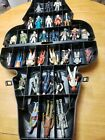 1977 1983 Vintage Star Wars Action Figure Lot of 32 FIGURES W Darth Vader Case