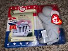 McDonald's TY Beanie Babies American Trio Righty the Elephant New 2000