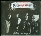 5 Guns West Bad Boys Rock n' Roll CD new Indie Hair Metal Glam reissue