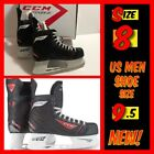 CCM RBZ 40 Ice Hockey Skates (M101SR SK40 D) Senior Men Size 8 (US 9.5)Black NIB