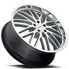 4ea 20 Staggered TSW Wheels Snetterton Hyper Silver Rims S8