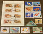 Lot 76 All Different All Pictured Topical Stamp Collection Fish