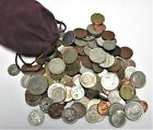 5lb Lot of Mixed Circulated Foreign Coins