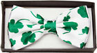 Four Leaf Clover Tie Halloween Costume Party Event Necklace Accessory Adult Men