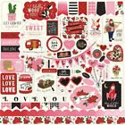 Echo Park Be My Valentine Collection Die Cut Cardstock Stickers Elements
