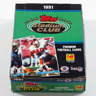 1991 Topps Stadium Club Football Box (36 Packs) Possible Favre Rookie